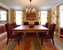 Modern Dining Room Rugs With Square Table For Chandeliers