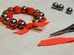 Twinkle And Twine Tutorial Ribbon Pearl Stretch Bracelets