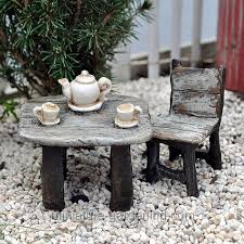 Afternoon Tea Table And Chair