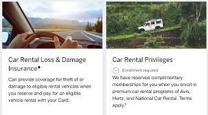 Amex Platinum Card - Maximize Car Rental Insurance ...