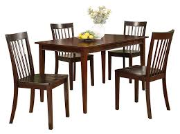 100 Cherry Table And 4 Chairs Amazoncom Pilaster Designs 5 PC Set Solid Pine Wood
