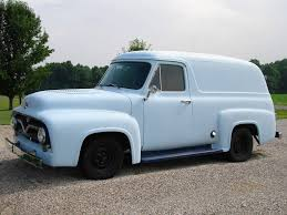 100 1955 Ford Panel Truck Panel
