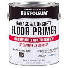 Rustoleum Garage Floor Epoxy Kit Instructions by Garage U0026 Concrete Floor Primer Product Page