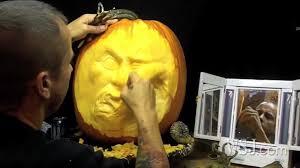 Pumpkin Masters Carving Kit Uk by Ray Villafane U0027extreme U0027 Pumpkin Carver Youtube