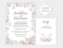 Wedding Invitation Stationary Set DIY