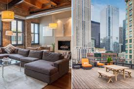 100 Studio Dwell Chicago Penthouse Timber Loft With Private Roof Deck Asks 15M