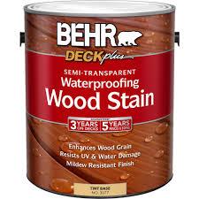 Behr Premium Deck Stain Solid by Behr 1 Gal Deckplus Deep Tint Base Solid Color Waterproofing Wood
