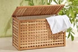 wäschetruhe oder wäschekorb für kleine badezimmer finden sie