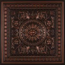 copper ceiling tiles cairo copper ceiling tile 24 milan ceiling