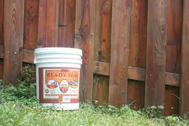 fence staining made easy with ready seal how to