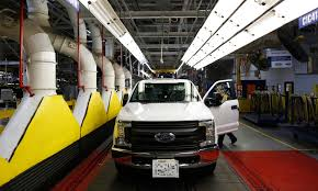 Ford's Q1 Results Will Set Tone For Rough '17 Is That A Robot In The Drivers Seat At Fords F150 Plant Ford Begins Production Of Kansas City Assembly Plant Kentucky Truck Motor1com Photos Increases Investment On High Demand Dearborn Pictures Will Temporarily Shut Down Four Plants Including A Classic 1953 F350 Pickup Truck With Twin Cities From Scratch 2012 Lariat 4x4 Ecoboost Trend Schedules Downtime 2 Michigan Assembly Plants Amid Slowing Tour And Images Getty Begins Production Claycomo The Star Next Level Stormwater Management Facts About