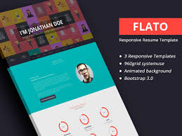 Flato - Responsive Resume, Personal Portfolio Temp - Designstub 70 Welldesigned Resume Examples For Your Inspiration Piktochart Innovative Graphic Design Cv And Portfolio Tips Just Creative Resumedojo Html Premium Theme By Themesdojo Job Word Template Vsual Diamond Resumecv 3 Piece 4 Color Cover Letter Ya Free Download 56 Career Picture 50 Spiring Resume Designs And What You Can Learn From Them Learn