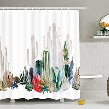 schlümpfe yingda badezimmer duschvorhang badezimmer vorhang langlebig bad vorhang badezimmer zubehör ideen küche fenster vorhang 70 l 69 w cactus