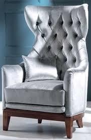 casa padrino luxus deco samt ohrensessel grau braun 73 x 78 x h 119 cm chesterfield wohnzimmer sessel deco möbel luxus qualität