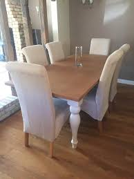 Next Shaftesbury Painted 6 8 Seater Extending Dining Table