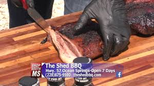 The Shed Barbeque Ocean Springs Ms by Shop South Mississippi The Shed Bbq Youtube