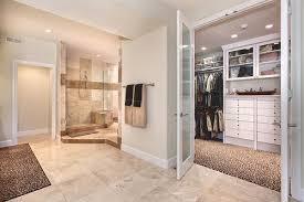 master room with walk in closet and bathroom novocom top