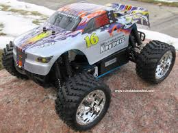 100 Rc Gas Trucks RC Nitro Monster Truck 116 Scale 24G 4WD RTR YX28604P