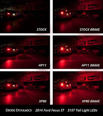 Brake Lamp Bulb Fault Ford Focus 2016 by Diode Dynamics Review Led Rear Light Upgrade Brake Turn Signal