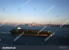 100 Shipping Containers San Francisco CA Ocean Liner Stock Photo Edit Now