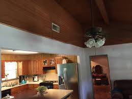 Finishing Drywall On Ceiling by Trim How Is A Transition Between Drywall And Wood Typically