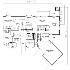 Unusual Ideas Design 13 Custom 6 Bedroom Home Plans One Level