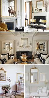 Living Room White Black Rustic Shabby Chic Swedish Decor Idea