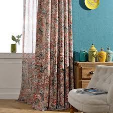 bunte gedruckt jacquard vorhänge für wohnzimmer vorhang und tüll qualität vorhang stoff sheer bildschirme rideaux gießen le salon