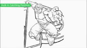Top 20 Free Printable Hulk Coloring Pages