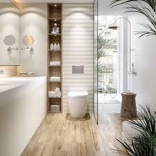 holzoptikfliesen im bad badezimmer dachgeschoss