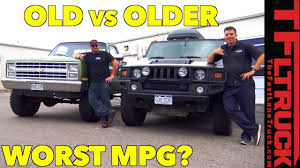 Hummer Vs Big Green: Which Truck Gets The Worst MPG? - YouTube Fuel Economy Intertional Trucks Gm Says Ignore The Mpg Label On 4cylinder Silverado Pickup Engine Chevy Hybrid Delivers 20plus In City And Highway 1981 Vw Rabbit Pickup 16l Diesel 5spd Manual Reliable 4550 Mpg Ford F150 Finally Goes This Spring With 30 And 11400 Archives Page 9 Of 11 The Fast Lane Truck Best 4x4 Truck Ever Youtube 2017 Ram Power Wagon Nissan Frontier City Highway Review Topping 10 Maximum Fuel Economy Comes When Talent Tech Unite Shocker 2019 1500 Vs 2018 2014 Gmc Sierra V6 Delivers 24 Ram 57 Hemi Test 17 Mile Loop Miles