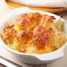 cuisiner le choux fleur gratin de chou fleur au fromage à raclette recette au fromage