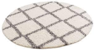 hochflor teppich linz my home rund höhe 31 mm rauten design wohnzimmer kaufen otto