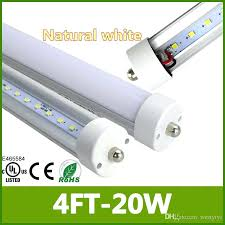 8 t8 l led clear cover single pin replace to