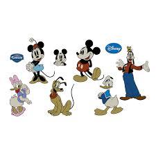 Fathead Princess Wall Decor by Amazon Com Classic Mickey Mouse Wall Decal Home U0026 Kitchen
