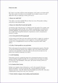 Sample Email Cover Letter Message Resume Templates Format Attachment