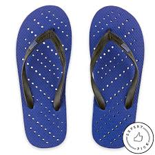 Bed Bath And Beyond Decorative Wall Clocks by Unisex Diagonal Hole Aquaflops Shower Shoes In Royal Blue Bed