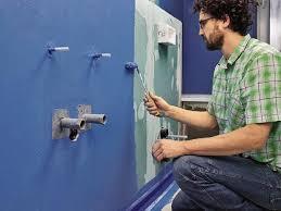 badezimmer wasserdicht abdichten ratgeber bauhaus