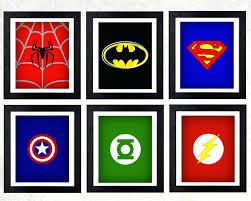 Superhero Room Decor Uk by Wall Ideas Superhero Wall Art Superhero Wall Art Hobby Lobby