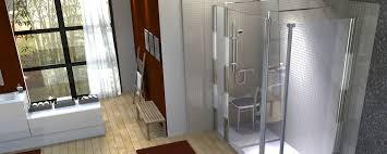 aménagement salle de bain handicapé élégant handicap concept