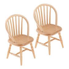 2pcs miniatur holz stühle stuhl puppenhausmöbel für