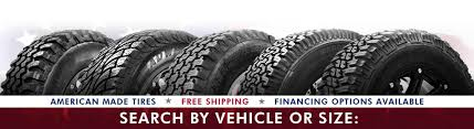 Shop Mud Terrain & All Terrain Tires | Search By Tire Size