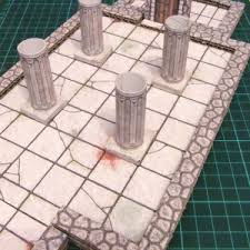 3d Printed Dungeon Tiles by One Must Have 2 5d Printable Plus Six Terrain Wizard