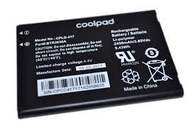 Original Coolpad CPLD-417 2450mAh Battery For Coolpad Defiant (Non ...