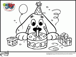 Clifford Coloring Pages Pdf