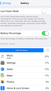 How to show Battery percentage on iPhone iPad and iPod