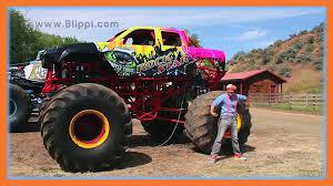 Monster Trucks With Blippi Toys _ Monster Truck Song For Kids ...