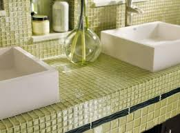 glass tile kitchen countertops modern versatile glass