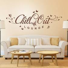 details zu wandtattoo chill out lounge mit blumen ranke und schmetterlingen wohnzimmer deko