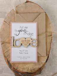 These Rustic Save The Date Magnets Are So Cute And They Come With Instructions